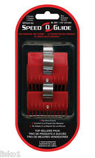 "Speed-O-Guide Clipper Comb Guide 3-PK SIZE 000 - 1/32"" Fits ANDIS OSTER WAHL"