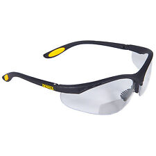 Dewalt DPG59-115C Reinforcer Rx-Bifocal 1.5 Clear Protective Safety Eyeglass