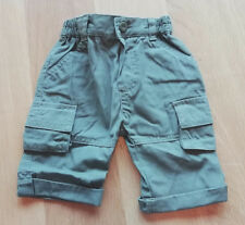 Boys Army Green Cargo Shorts - Size: 3-6 Months