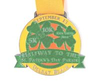 Parade Marathon Finisher Medal Delray Beach Halfway to The St. Patrick's Day