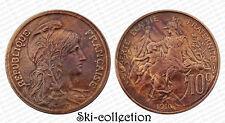 10 Centimes 1916 Dupuis. France. Bronze. Qualité +patine.