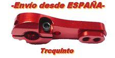 BRAZO de SERVO, aluminio 25T (servo Horn), radiocontol, robótica (rojo o azul)