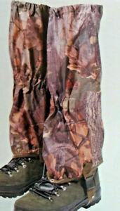 JACK PYKE WATERPROOF GAITERS Hunting Walking Shooting English Oak Camo