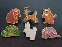 WDW Toy Story Midway Mania Prizes Disney Pins Set of 6 Mini Pins 2008 w/ Gopher