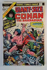 Giant-Size Conan #5 (1975) Marvel 6.0 FN Comic Book