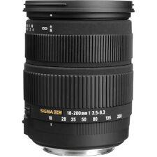 Sigma 18-200mm f/3.5-6.3 DC AF OS for Canon DSLR (888101) U.S. Authorized Dealer