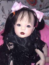 Gothic Reborn Baby Girl -Pandora - Goth Punk Baby