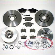 Audi A4 b5 Bremsscheiben Bremsen Set Bremsbeläge für vorne hinten Radlager Satz*