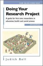Doing Your Research Project 4/e-ExLibrary