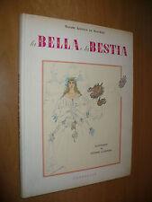 LEPRINCE DE BEAUMONT LA BELLA E LA BESTIA ILL.VITTORIO ACCORNERO CARROCCIO 1954