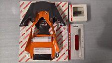 BARRACUDA KIT PORTATARGA RECLINABILE KTM DUKE 390 + LUCE TARGA + NCAT---------