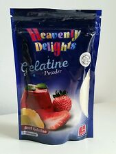 Halal Gelatine Powder 100g Unflavoured Beef Gelatin HMC Certified Silver Grade