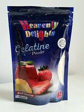 Polvo de gelatina halal 100g unflavoured carne gelatina HMC Certificado de grado de Plata