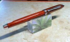 Cross Townsend sienna lacquered fountain pen rare retired nib m