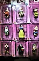 Mattel's Disney Snow White and the Seven Dwarfs Collectible Figurines (Lot of 9)