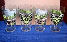 4 Shiner Wicked Ram IPA Beer New 16 oz. Pint Glasses ... Shiner, Tx. Brewer