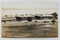 Postcard Real Photo Madison Barracks Sackets Harbor New York