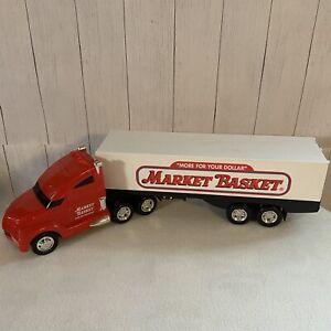 Market Basket Semi-Truck 24 inch Truck Trailer Lights Sound Toy Working Grocery