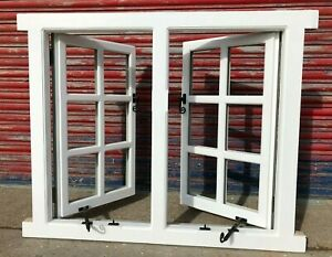 Accoya Georgian Style Casement Window! Double opener! Made To Measure! Bespoke!