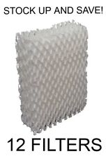 Humidifier Filter Wick for Duracraft DH804 DH805 DH807 DH-803 (12 Pack)