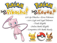 6IV Mew Pokemon Lets go Pikachu Lets go Eevee Guide Battle Ready Legit LGPE