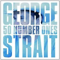 GEORGE STRAIT 50 NUMBER ONES 2CD ALBUM SET (THE VERY BEST OF / GREATEST HITS)