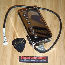 Gibson Les Paul Pickup Burstbucker Pro Plus Chrome Bridge Guitar Parts Humbucker