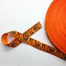"New 5 Yards 3/4"" (20mm) Printed Grosgrain Ribbon Hair Bow DIY Sewing AD43"