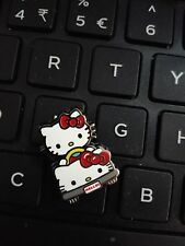 JAPAN SANRIO HELLO KITTY WITH KITTY CAR PIN