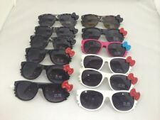 E1004 Cute Plastic Frame Sunglasses With Butterfly Wholesale 12 pair
