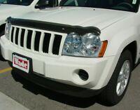 "Jeep Cherokee 2001 /> 2005 Oscuro Humo Bonnet Guard /""no Grand Cherokee/"""