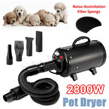 2800W  Stepless Speed Dog Cat Pet Grooming Hair Dryer Hairdryer Blaster Blower