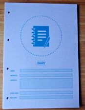 SFBB Safer Food Better Business Caterers 12 Month Diary Refill 4 Hole Punched