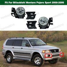 Left & Right Fog Lamp w/ Cover Kit For Mitsubishi Montero Pajero Sport 2000-2006