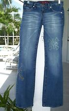 ALOUETTE Jeans~Size 5~Rare~CRYSTAL DETAILED~Excellent Condition~A RARE FIND