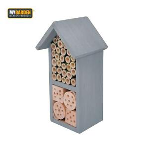 Wooden Insect House Garden Bug House Shelter