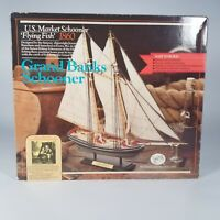 Authentic Models Holland 'Flying Fish' 1860 Solid Hull Wood Ship Model Kit