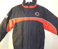 Vintage Chicago Bear Puffer Jacket Sz M Full Zip Reebok Team Apparel NFL NEW