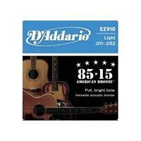 D?ADDARIO EZ910 CORDE CHITARRA ACUSTICA 11-52