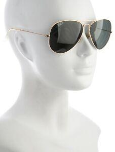 Ray- Ban Tinted Aviator Sunglasses