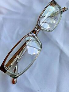 4U Women's Eyewear US 53 Brown/Clear 51-19-140 #012