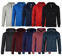 Smith & Jones Full Zip Hooded Sweatshirt New Men's Fleece Hoodie Slim Fit