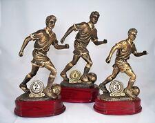 Pokal 3er Serie FUSSBALL / FUSSBALLER inkl. Gravur Schild 18,5 / 21,5 / 23,5 cm