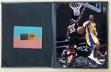 Kobe Bryant 8x10 Photo w/Foil stamp Back-To-Back Champions Upper Deck LE 66/208