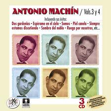 ANTONIO MACHIN Vol.3 Y 4-3CD