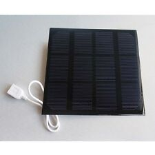 3.5W 6V Portable Solar Panel Battery Charger USB Output Charge Controller