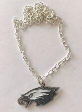 Philadelphia Eagles Logo Charm Necklace - NFL Licensed Nice quality chain