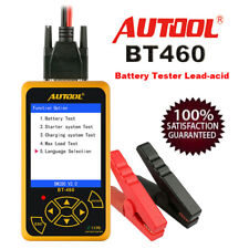 Autool BT-460 Battery Tester Lead-acid AGM Battery Analyzer For 12/24V Car Truck
