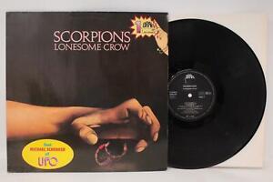 LP SCORPIONS LONESOME CROW BRAIN RECORDINGS GERMANIA [V01-069]