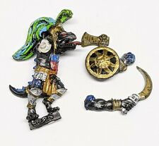 Warhammer - Lizardmen Saurus Warrior Leader - Classic Metal OOP